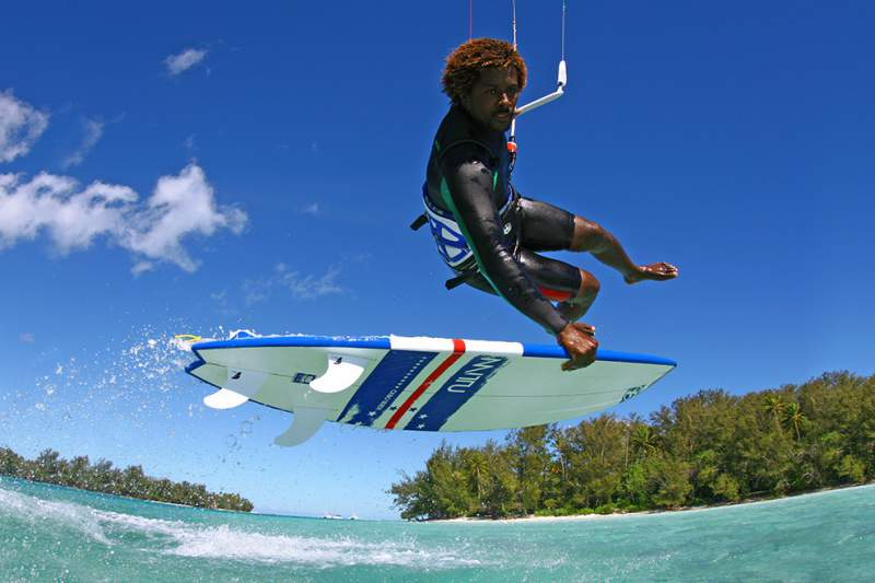 mitú monteiro kite surf