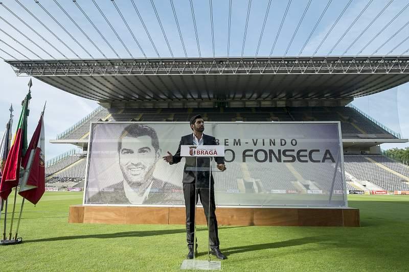 Paulo Fonseca apresentado como novo treinador do SC Braga