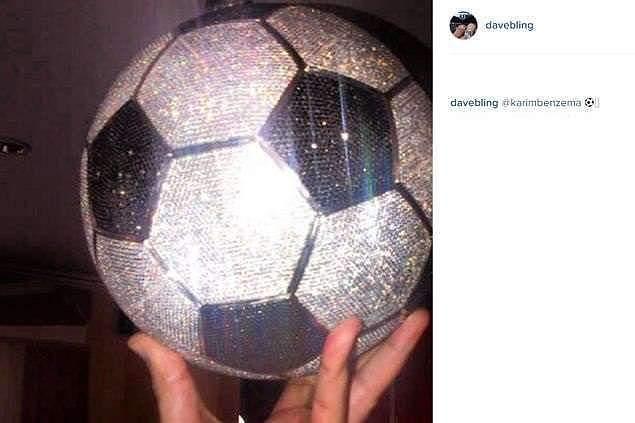Instagram de Dave Bling da foto de Benzema