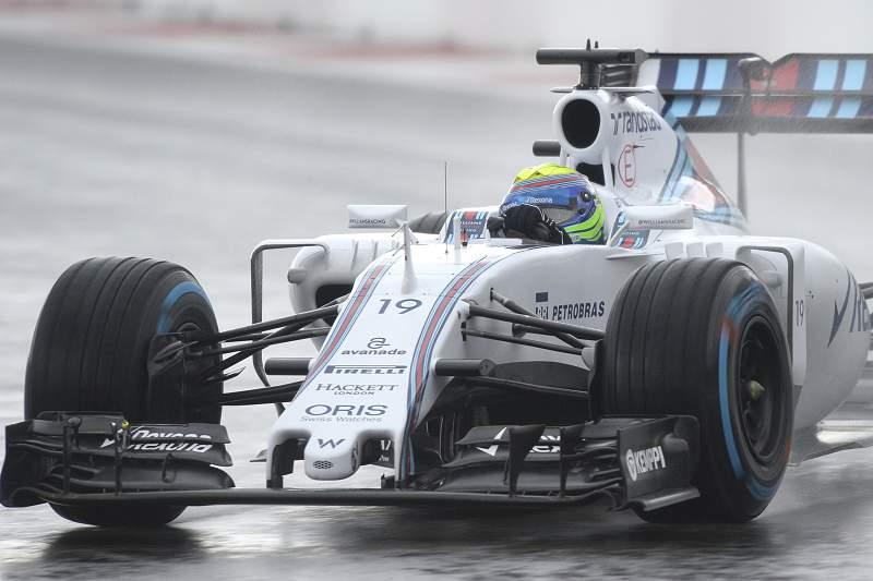 Felipe Massa, da Williams Mercedes