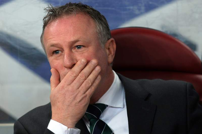 Michael O'Neill renova até 2020 com a seleção da Irlanda do Norte