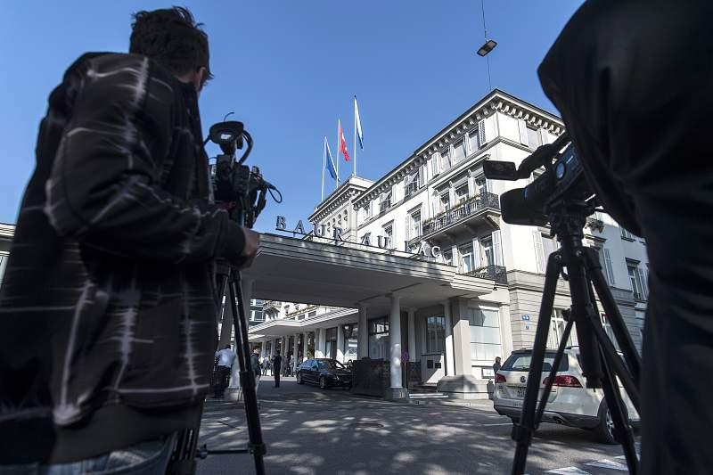 Hotel Baur-au-Lac detenções FIFA