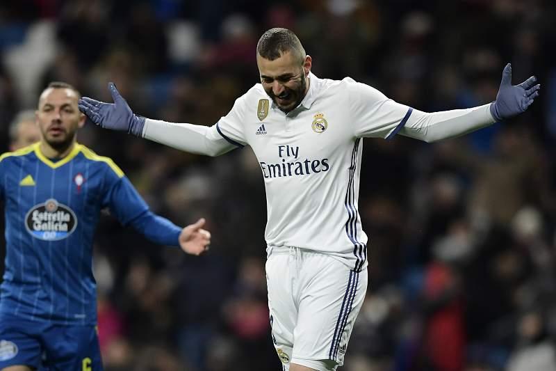 Benzema, jogador do Real Madrid