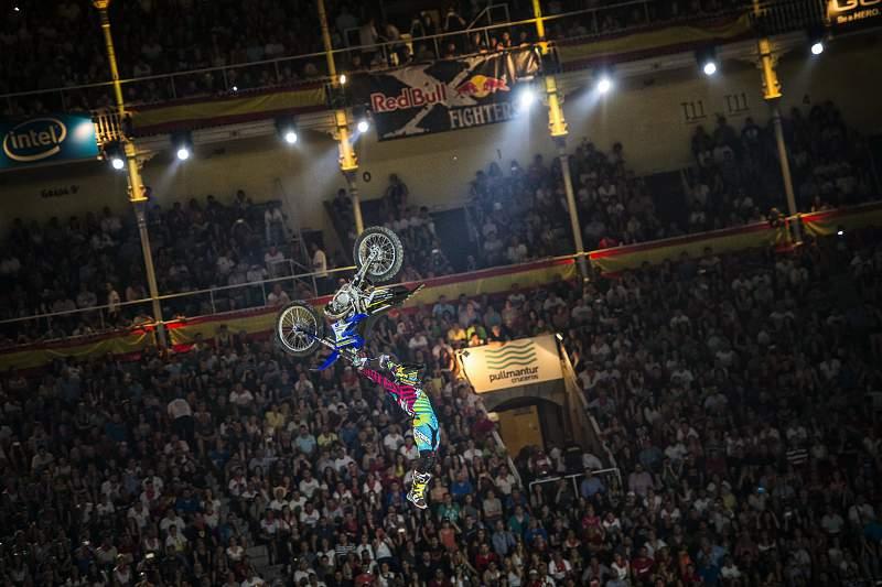 Red Bull X-Fighters regressou a Madrid