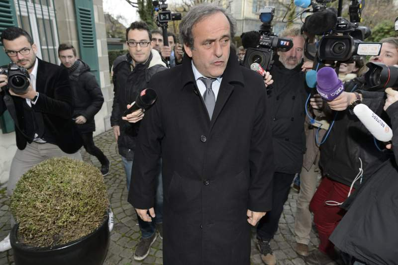 Court of Arbitration for Sport upholds Platini suspension