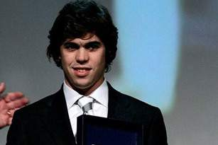 O triatleta Miguel Arraiolos recebeu o prémio Jovem Promessa do Ano