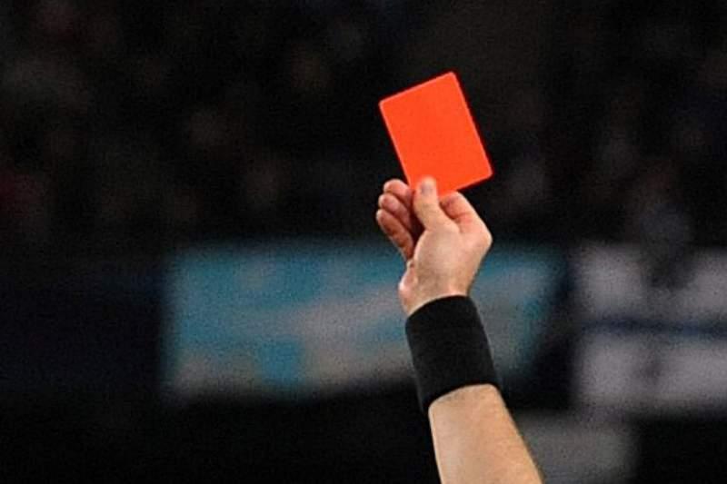 Arbitragem cartão vermelho