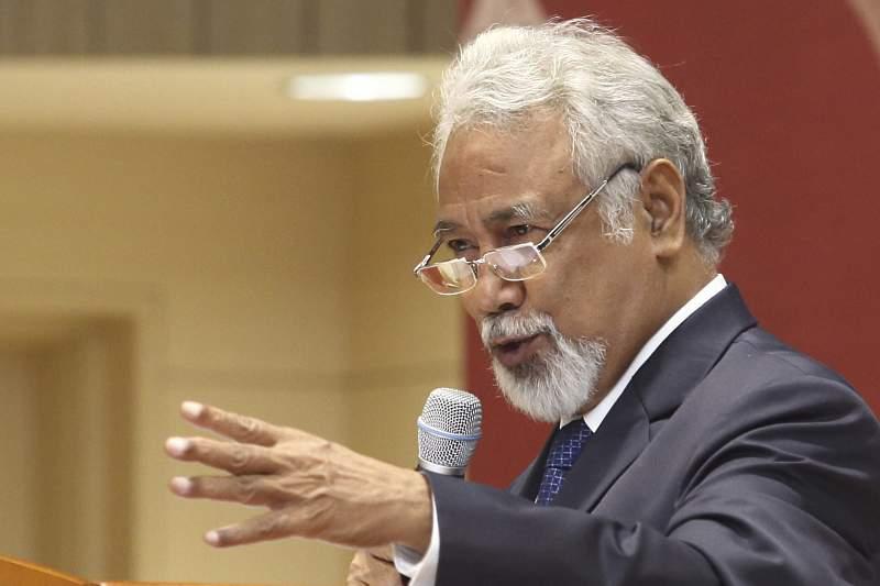 Former President of East Timor Xanana Gusmao in Seoul