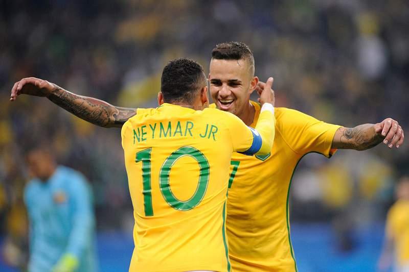 Neymar e Luan