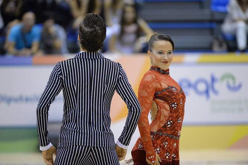 Ana Walgode/Pedro Walgode ganharam em pares de dança seniores