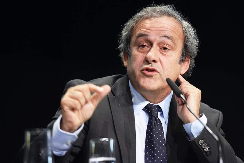 Michele Platini, presidente da UEFA