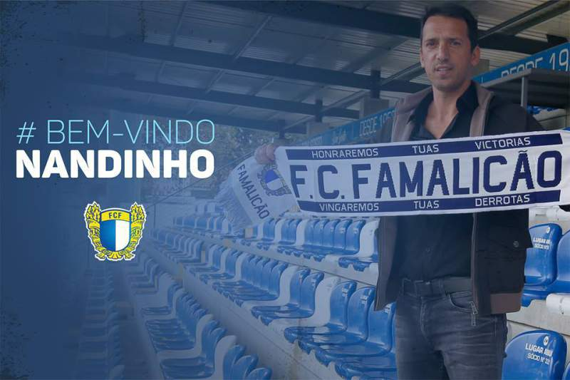 Nandinho, novo treinador do Famalicão