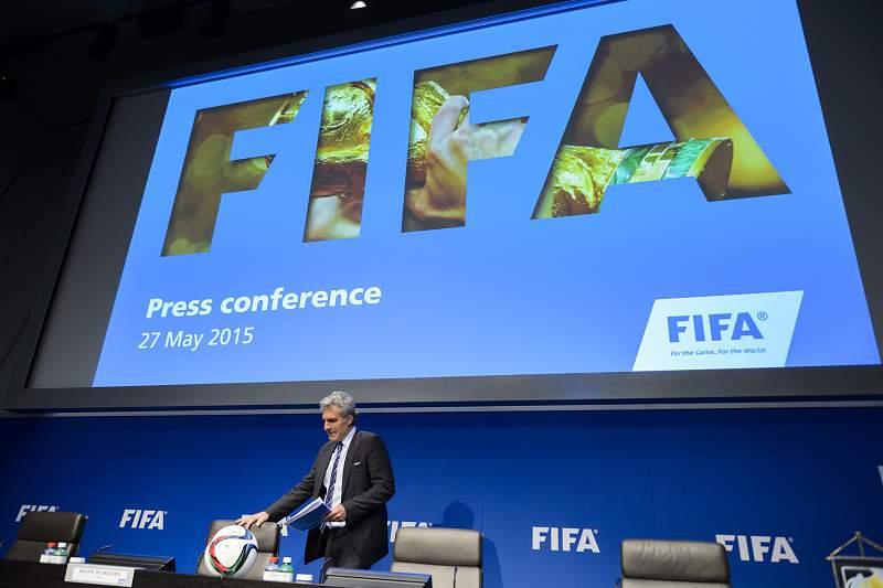 FIFA conferência de imprensa