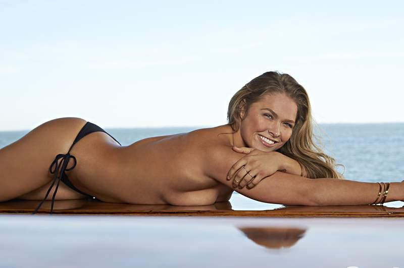 Ronda Rousey, a musa campeã do UFC