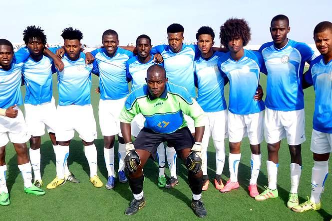 Futebol/Cabo Verde. Onze Unidos, do Maio