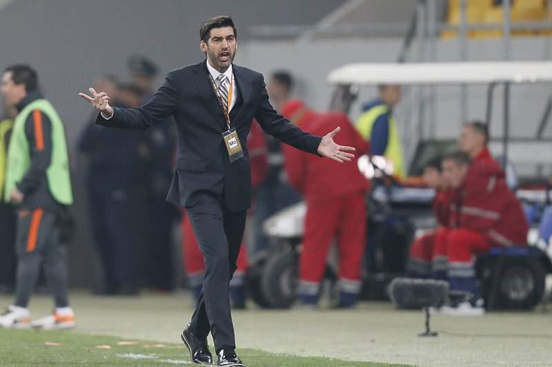 Paulo Fonseca, treinador do Shakhtar Donestk