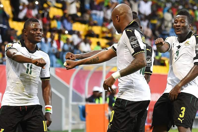 Gana derrota Uganda (1-0)