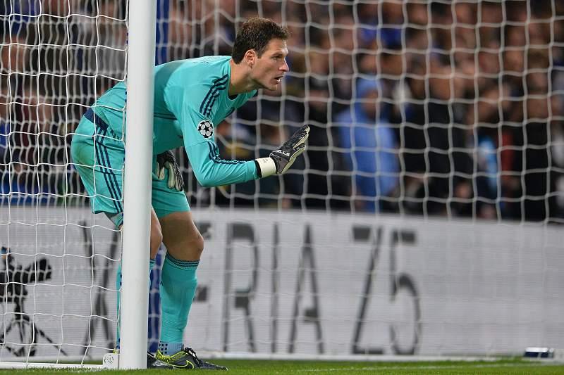 Begovic em ação pelo Chelsea