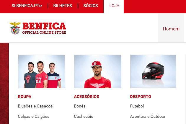 Loja do Benfica