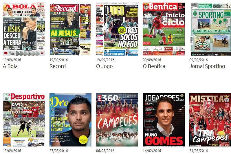 Revista de Imprensa de 19-09-2016
