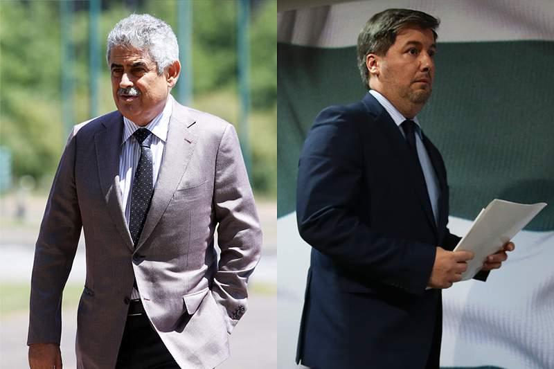 Luís Filipe Vieira e Bruno de Carvalho