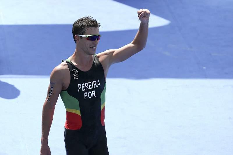 Rio2016: João Pereira quinto em novo triunfo de Alistair Brownlee no triatlo
