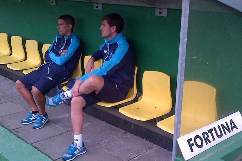 Maxi Pereira e Casillas, últimas contratações do FC Porto