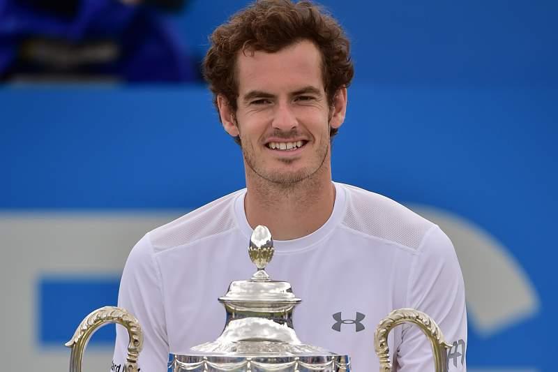 Murray conquista torneio de Queen's pela quarta vez