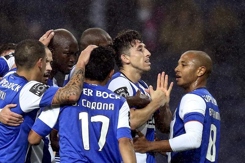 FC Porto festeja golo