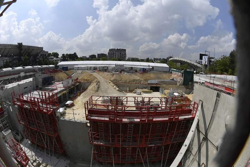 Justiça francesa autoriza obras de ampliação do complexo de Roland Garros