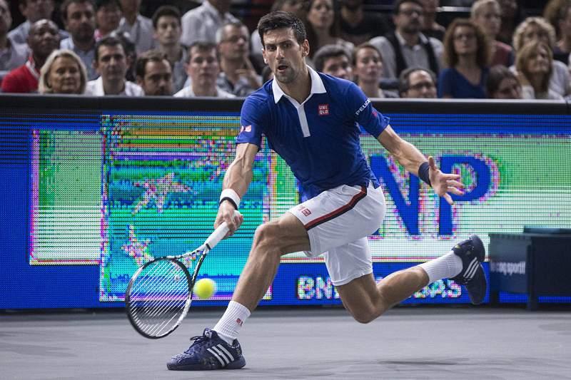 Djokovic em ação
