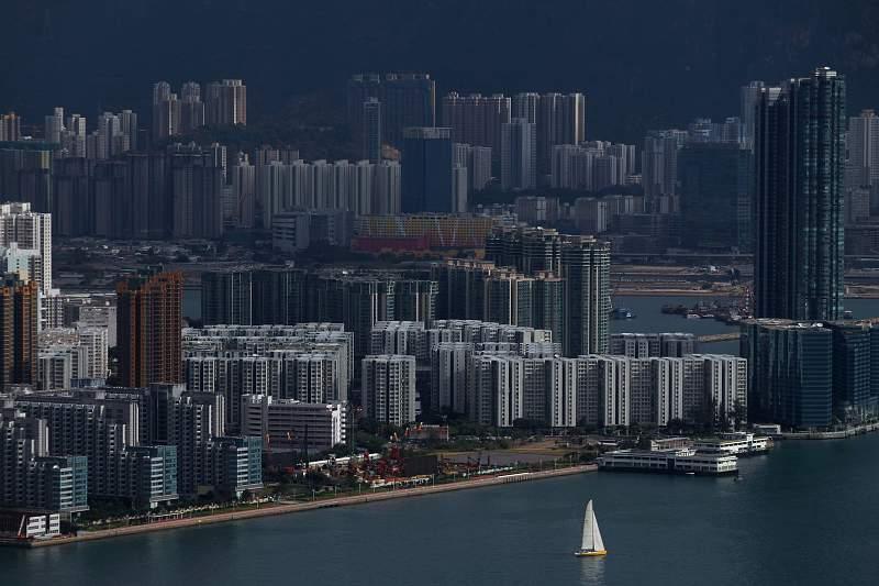 Vela em Hong Kong