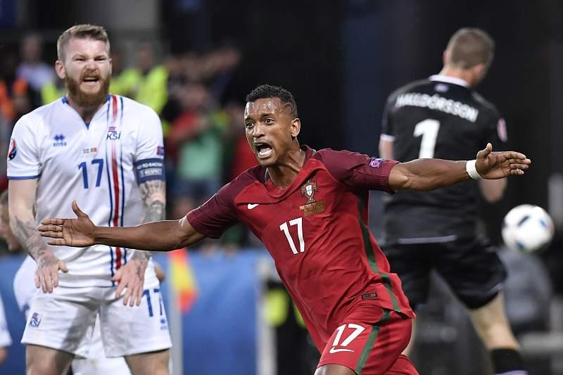 Nani Homem do jogo no Portugal - Islândia