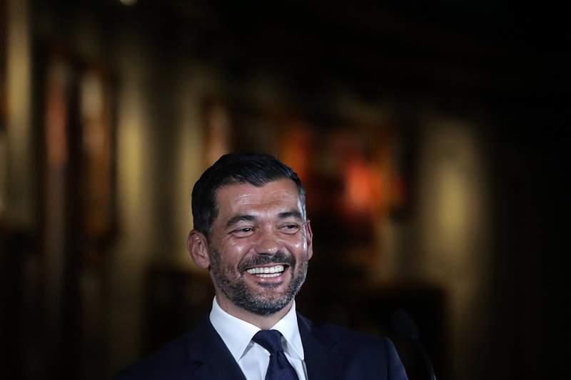 Apresentação de Sérgio Conceição como novo treinador do FC Porto