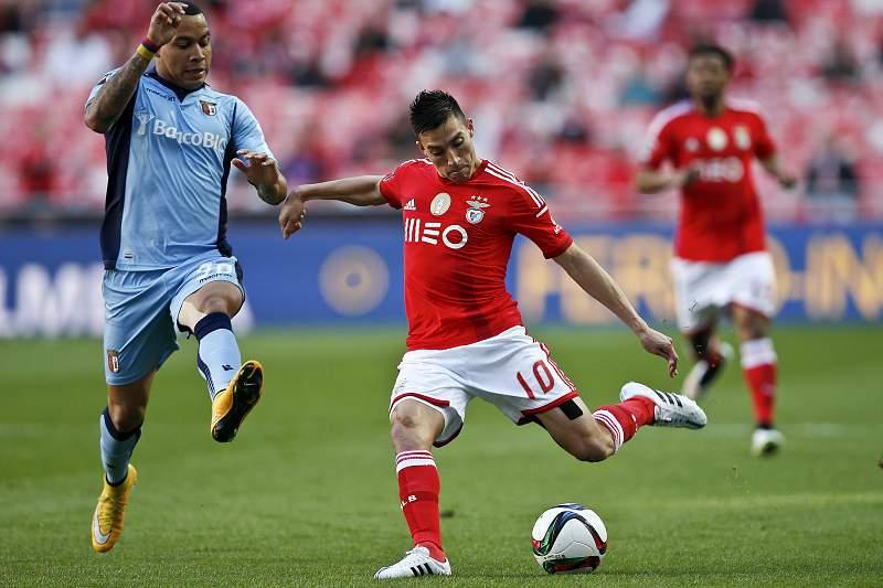 Benfica e Braga defrontam-se na Luz