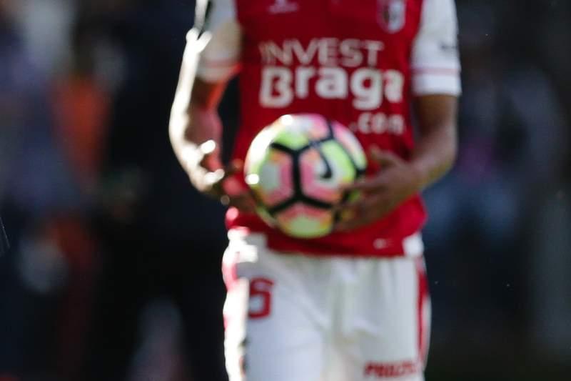 Abel Ferreira dá indicações durante o jogo entre SC Braga e Sporting