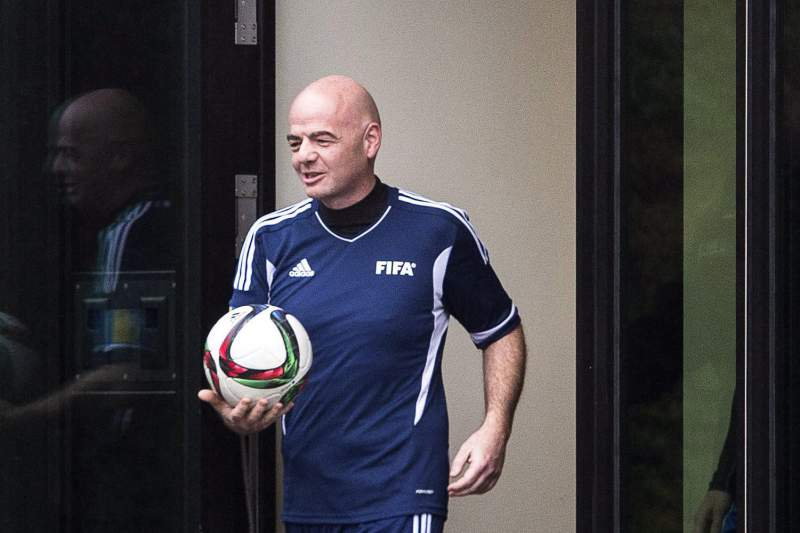 New FIFA President Gianni Infantino