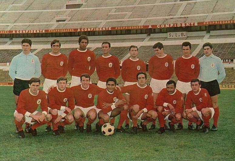 Equipa do S.L. Benfica da época 1966/1967