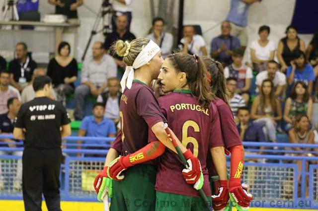Seleção portuguesa feminina de hóquei em patins soma segunda vitória no Europeu