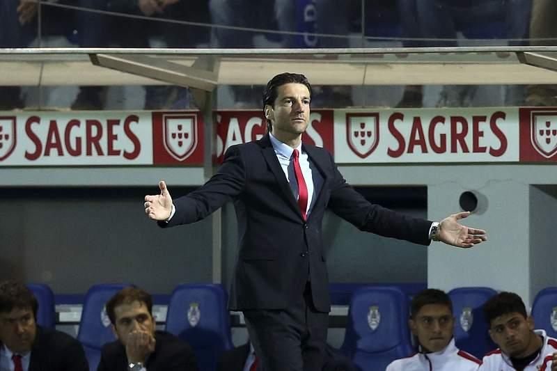 Jorge Simão, treinador do SC Braga