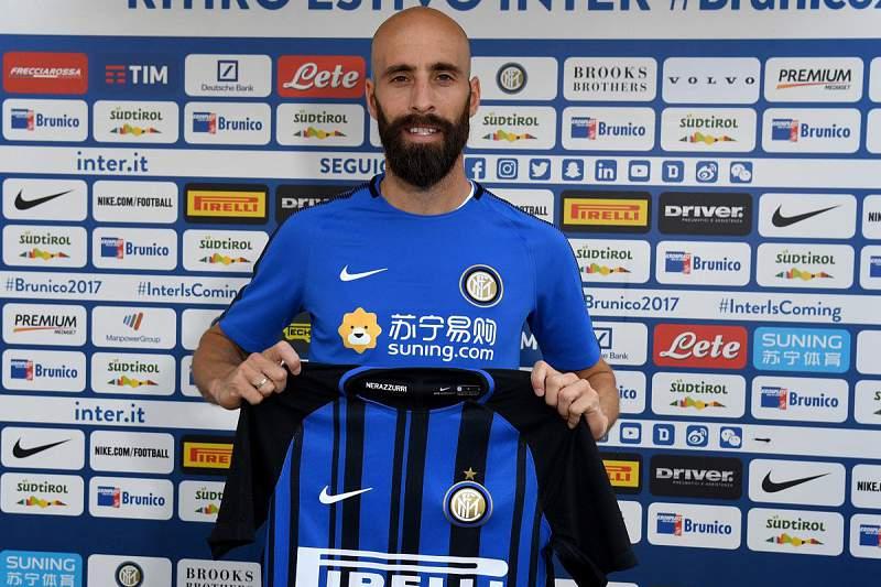 Borja Valero, novo jogador do Inter de Milão
