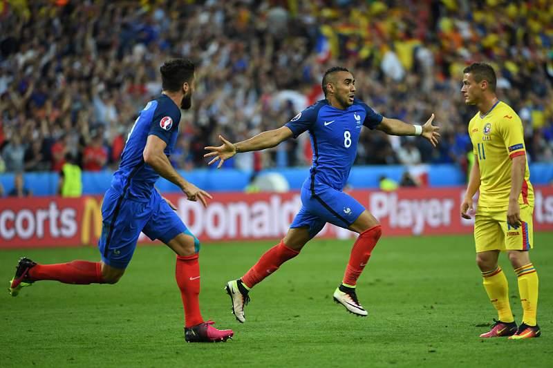 França - Roménia: Payet marca o golo da vitória