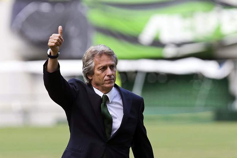 New Sporting coach Jorge Jesus