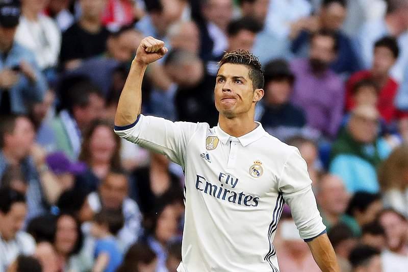 Ronaldo celebra golo