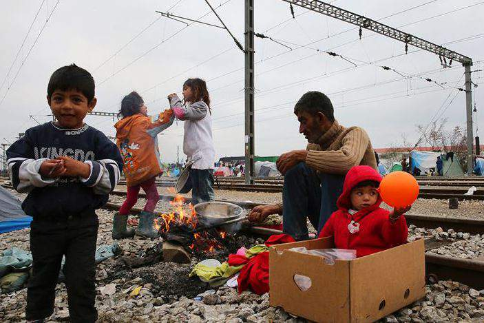 Refugiados na Grécia