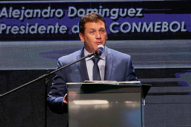Alejandro Dominguez eleito presidente da CONMEBOL