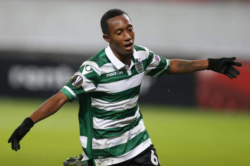 Gelson Martins celebra golo
