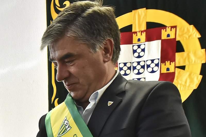 Gilberto Coimbra, presidente do Tondela