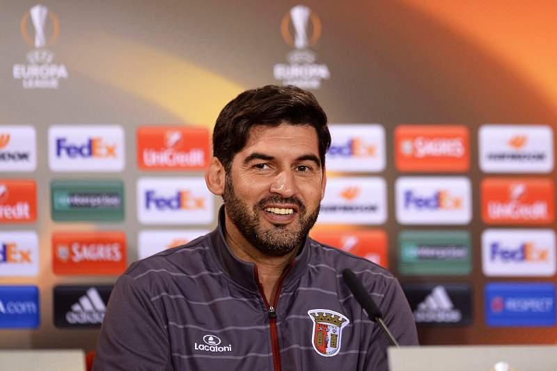 Sporting Braga press conference