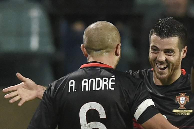 O primeiro golo de André André na Seleção